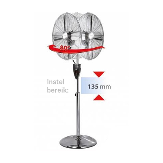 Mpm Staande Ventilator Mwp 13m 4